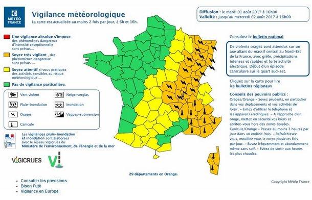 Météo : Vague de chaleur dans le Sud-Est de la France